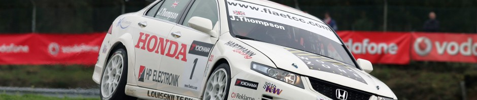 James Thompson, Hartmann Honda Accord, ETCC 2010, Braga.