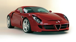 Alfa Romeo 4C, Photoshop from Quattroruote