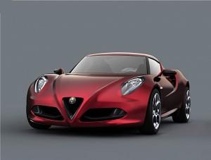 Alfa Romeo 4C Concept (03/2011), Front