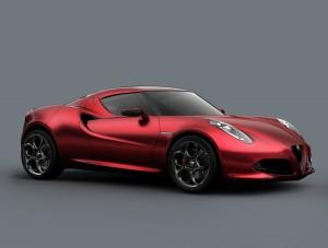 Alfa Romeo 4C Concept (03/2011), Side