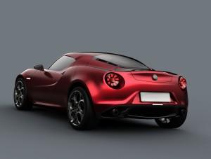 Alfa Romeo 4C Concept (03/2011), Rear