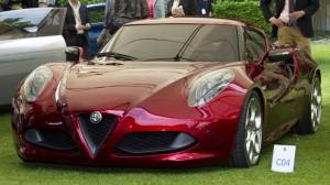 Alfa Romeo 4C - Concorso d'Eleganza at Villa d'Este