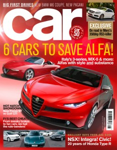 Car Magazine, August 2012 - Alfa Romeo Giulia