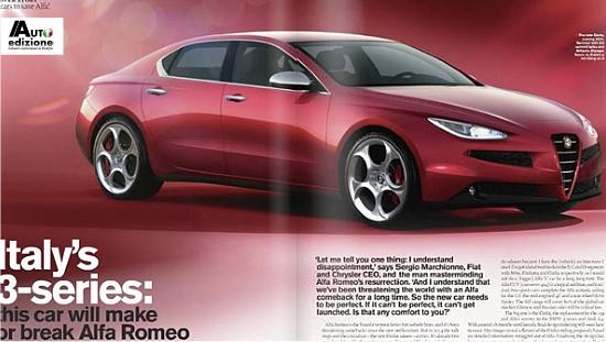 Alfa Romeo Giulia News Alfa Romeo Giulia 2014
